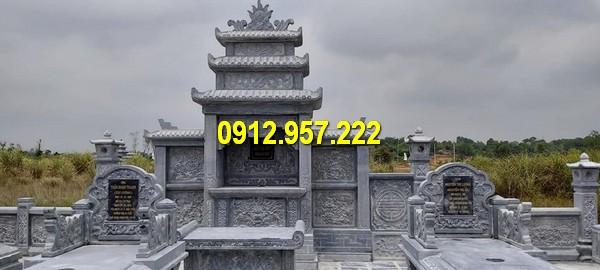 Lăng thờ chung ba mái đẹp nhất Ninh Vân