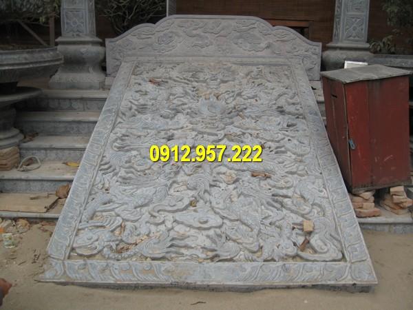 Mẫu chiếu rồng đá được làm tại Đá mỹ nghệ Thái Vinh