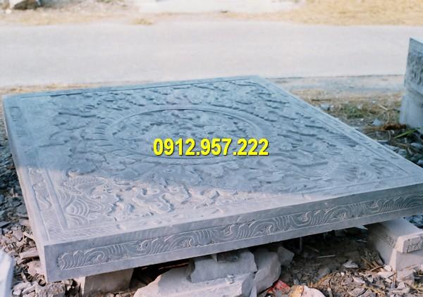 Mẫu chiếu rồng bằng đá tự nhiên nguyên khối