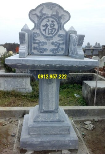 Mẫu miếu thờ bằng đá đẹp