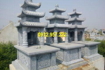 Mộ đá 3 mái Ninh Vân Ninh Bình