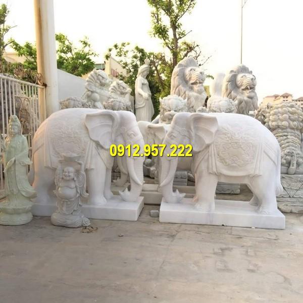 Tượng voi giúp chủ nhân thúc vượng quyền quý có được địa vị cao