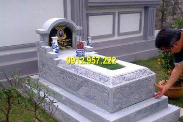 Bán lăng mộ đá 1 mái Ninh Vân Ninh Bình giá rẻ uy tín