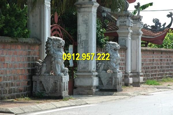 Đá mỹ nghệ Thái Vinh bán sư tử đá tại Hà Nội, Tphcm giá rẻ uy tín