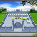 Tổng thể một khu lăng mộ đá dòng họ