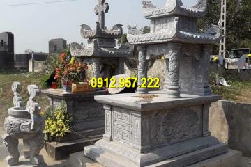 Lăng mộ đá hai má là sản phẩm phổ biến hiện nay
