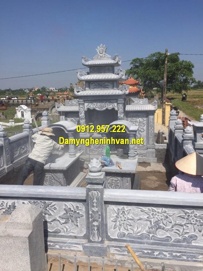 Khu lăng mộ gia đình thi công tại An Giang