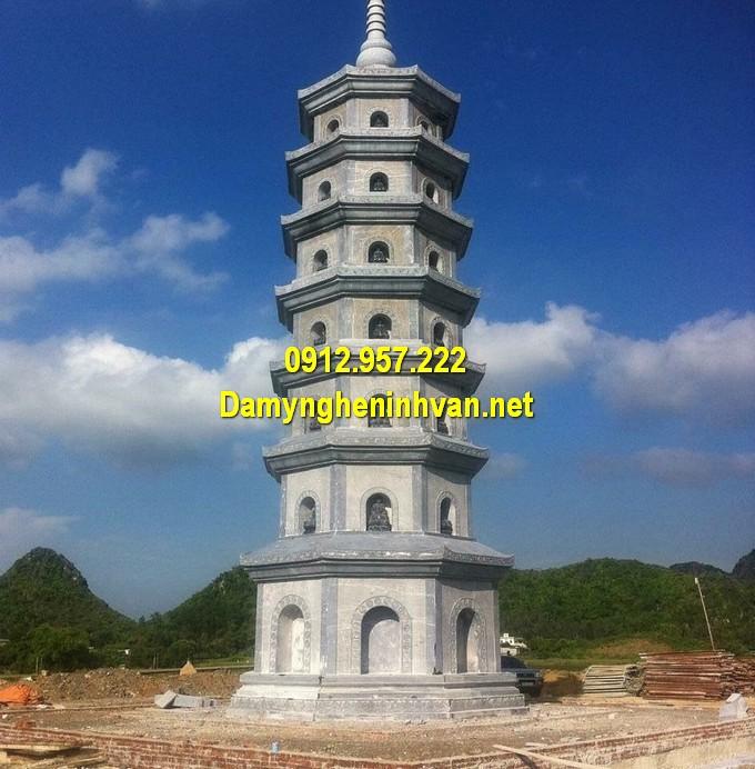 Khu mộ đá tháp chuẩn phong thuỷ