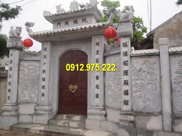 Cổng đền, chùa, nhà thờ họ đẹp