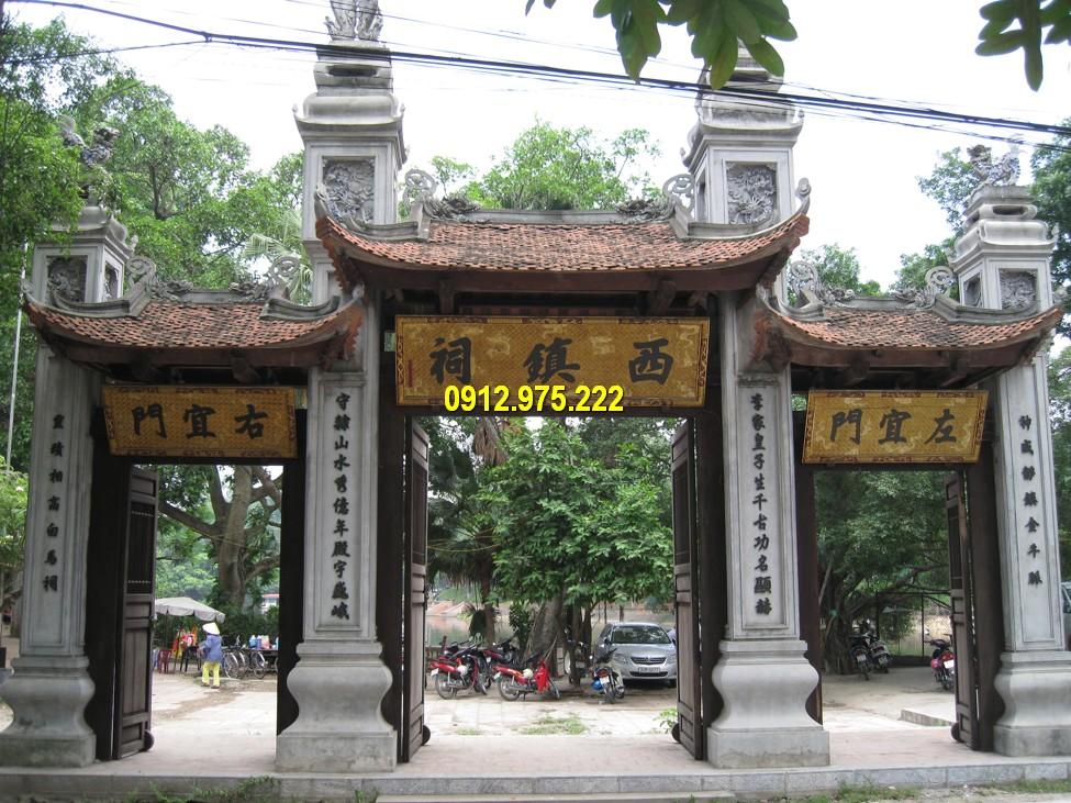 Mẫu cổng làng truyền thống đẹp