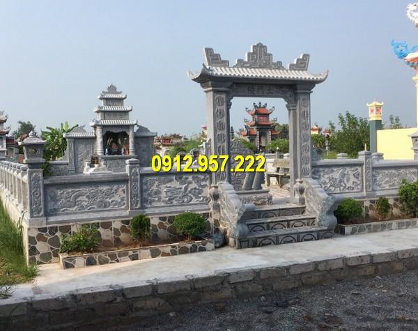 Lăng mộ đá mỹ nghệ Ninh Vân đẹp - Giá lăng mộ đá mỹ nghệ Ninh Vân