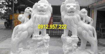 Mua một cặp sư tử đá giá bao nhiêu tiền?