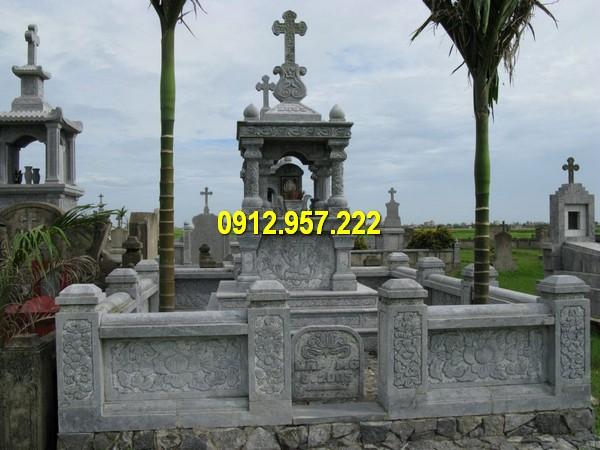Hình ảnh khu lăng mộ đá công giáo đẹp