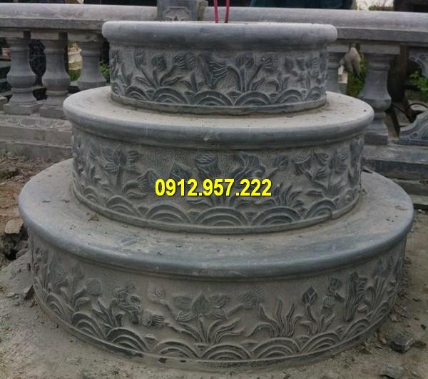 Lăng mộ đá tròn kích thước chuẩn phong thuỷ