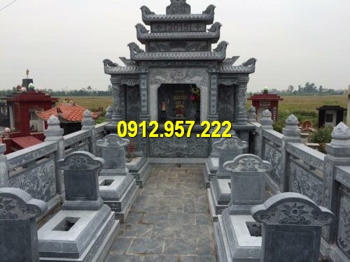 Mẫu lăng thờ ba mái đẹp nhất Việt Nam