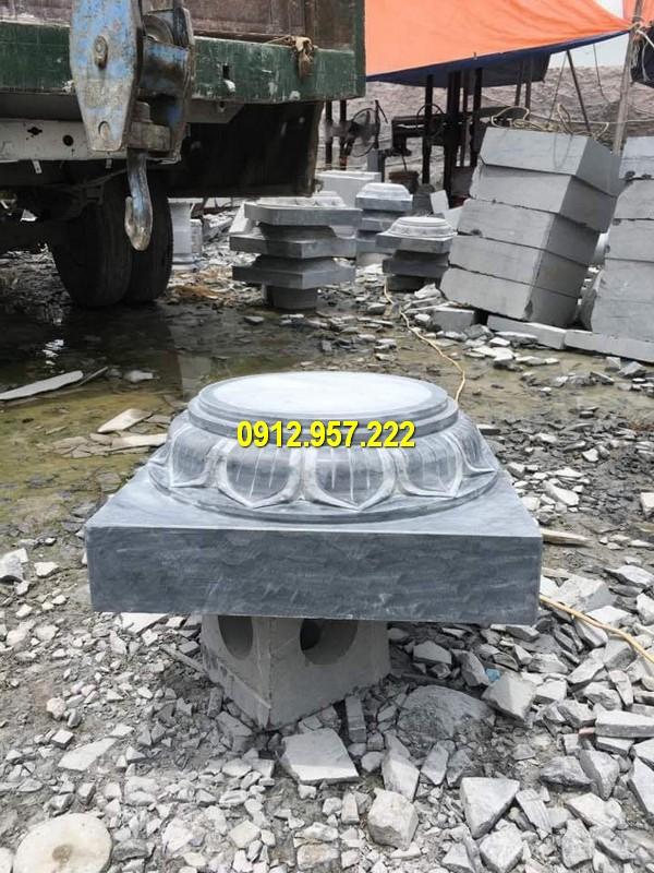 Chân tảng đá, chân cột đá nhà thờ, từ đường