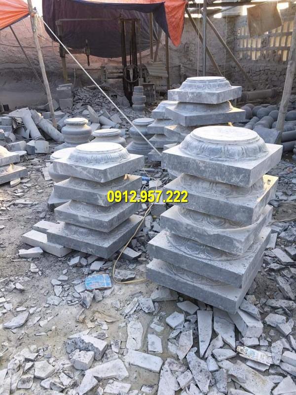 Các mẫu chân tảng đá kê cột đẹp bán tại Đá mỹ nghệ Thái Vinh