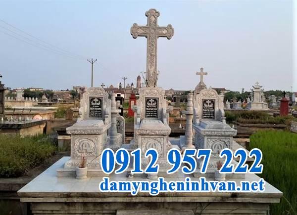 Lăng mộ công giáo đẹp