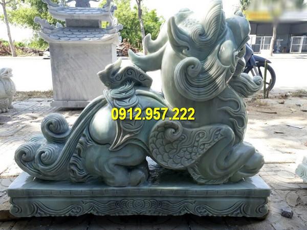 Mẫu tỳ hưu bằng đá xanh tự nhiên đẹp chế tác tại Đá mỹ nghệ Thái Vinh