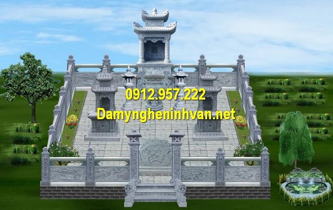 Khu lăng mộ chuẩn phong thuỷ