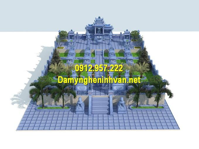 Thiết kế khu nghĩa trang gia đình đẹp
