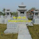 Địa chỉ xây mẫu mộ đá đôi đẹp trên toàn quốc