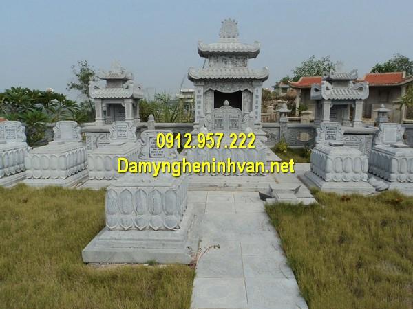 Mẫu mộ đá đôi đẹp – Địa chỉ xây mộ đôi đẹp trên toàn quốc