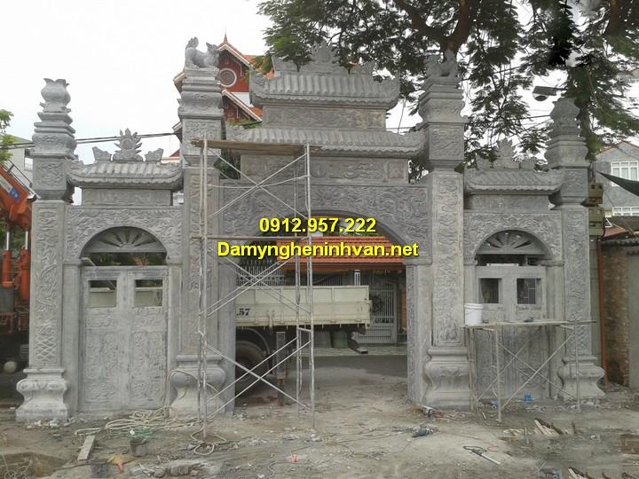 Xây công chùa bằng đá tại Hà Nội, TPHCM