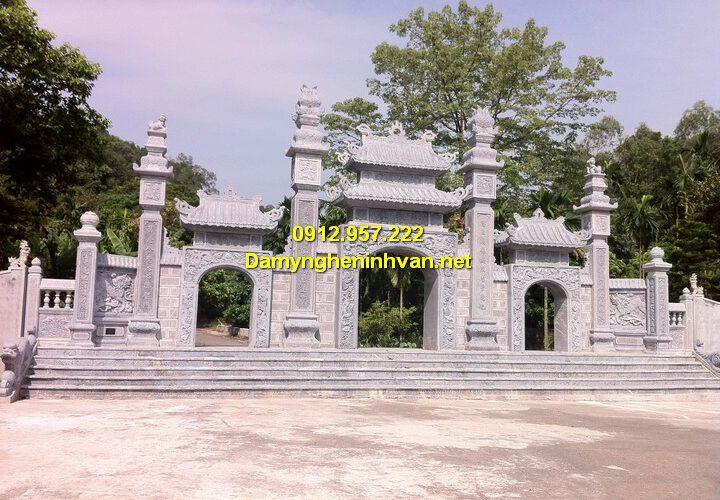 Cổng chùa đẹp, kiến trúc cổng tam quan