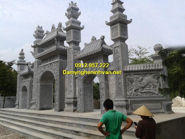 Ý nghĩa cổng tam quan trong kiến trúc đình chùa