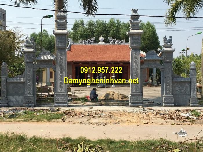Làm cổng nhà thờ họ đẹp ở Điện Biên