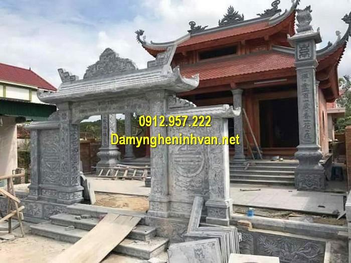 Làm cổng nhà thờ họ đẹp ở Lai Châu