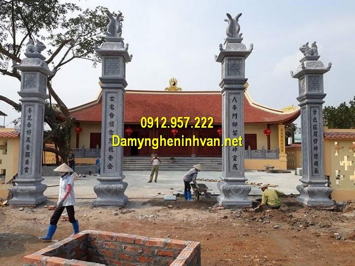 Làm cổng nhà thờ họ đẹp ở Khánh Hòa