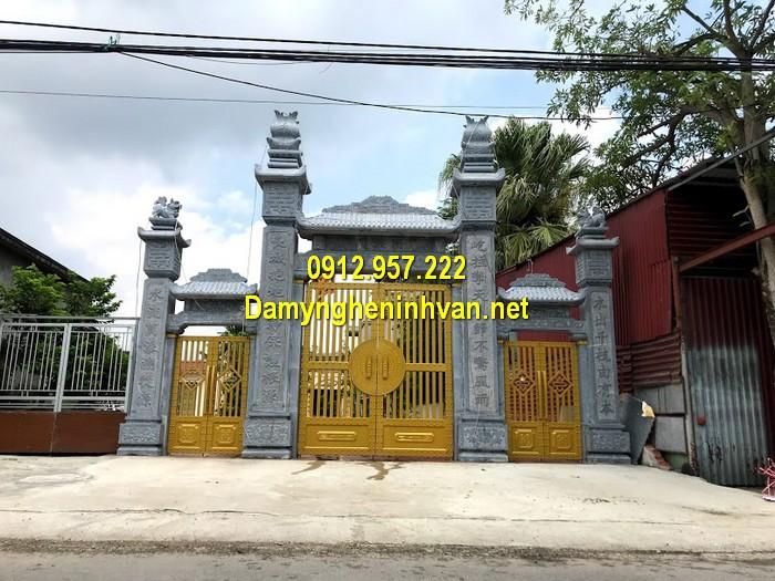 Làm cổng nhà thờ họ đẹp ở Đắk Nông