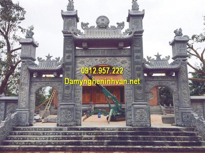 Làm cổng nhà thờ họ đẹp ở Quảng Bình