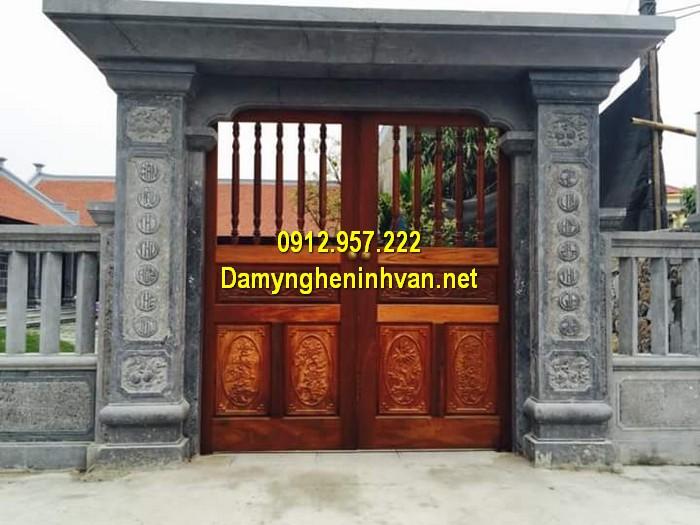 Làm cổng nhà thờ họ đẹp ở Hà Nội