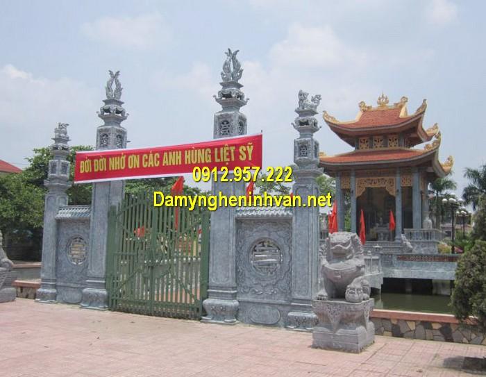 Làm cổng nhà thờ họ đẹp ở Hải Phòng