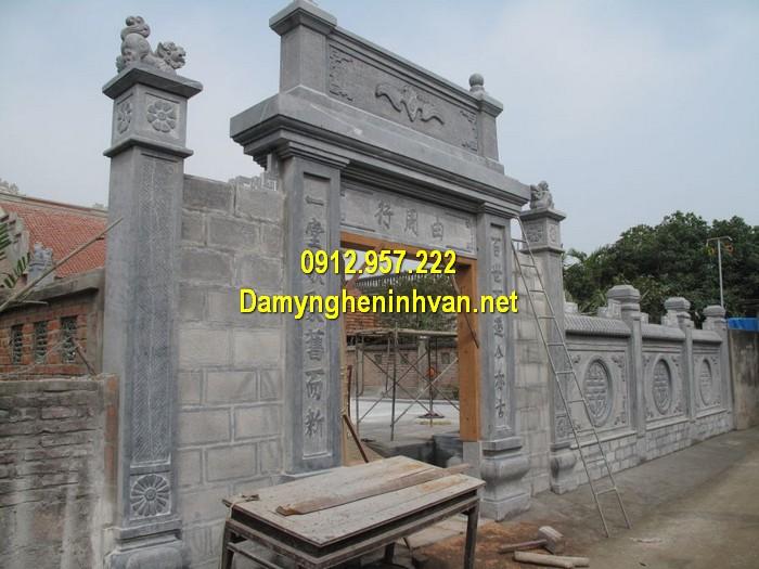 Làm cổng nhà thờ họ đẹp ở Đà Nẵng