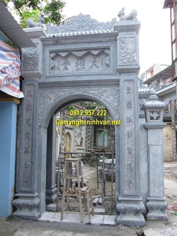 Làm cổng nhà thờ họ đẹp ở TP HCM