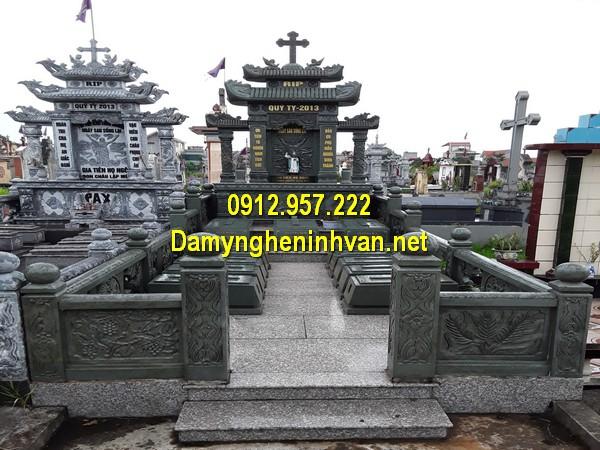 Giá khu lăng mộ đá xanh rêu bao nhiêu tiền?