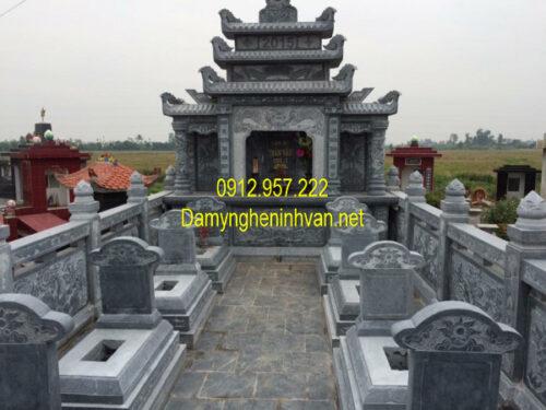 Lăng mộ đá đôi đẹp nhất Việt Nam