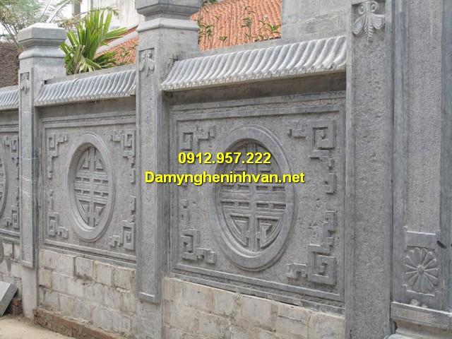 Lan can đá làm tại Damyngheninhvan.net
