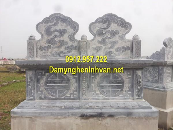 Kích thước xây mộ đôi chuẩn phong thuỷ