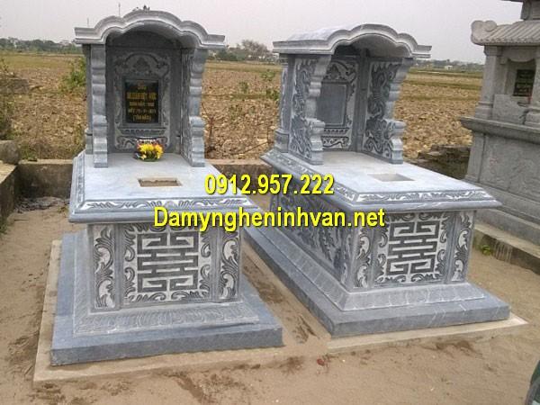 Mẫu mộ có sẵn - Các mẫu mộ đá xây có sẵn đẹp nhất 2019