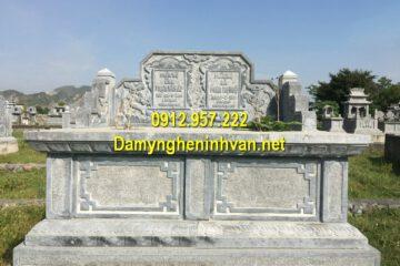 Mẫu mộ đá đôi Ninh Bình