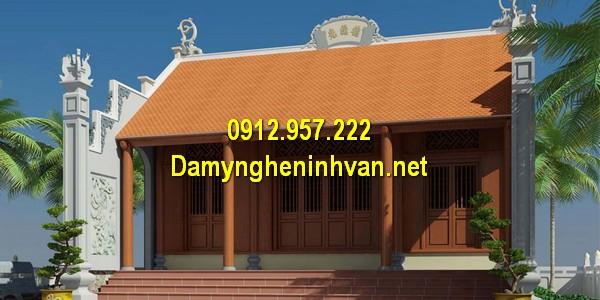 Nhà thờ họ đẹp - Các kiểu nhà thờ họ từ đường đẹp tại Việt Nam