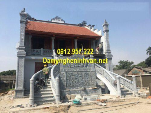 Các kiểu nhà thờ họ từ đường đẹp đơn giản tại Việt Nam