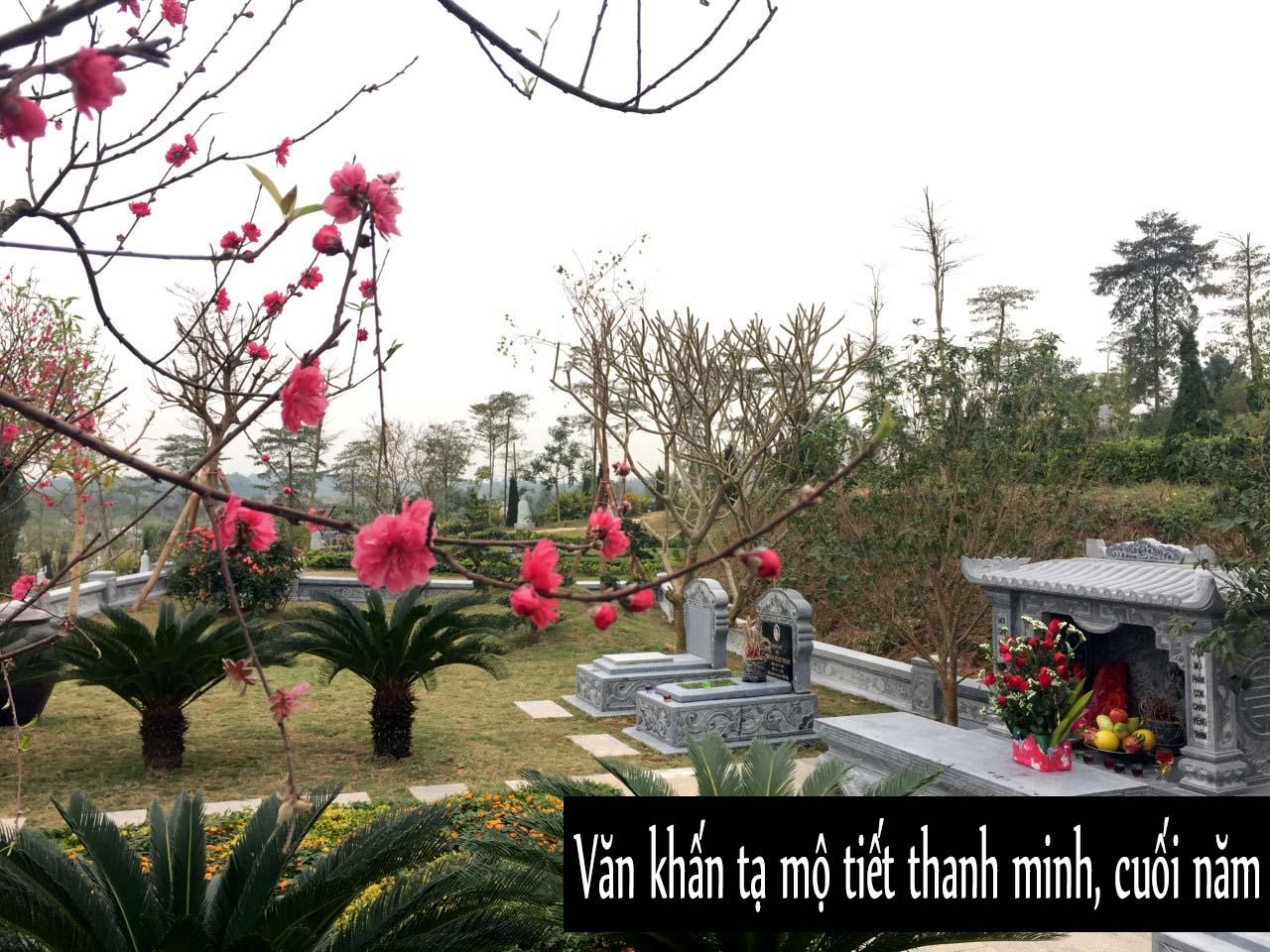 Văn khấn tạ mộ tiết Thanh Minh và cách sắm đồ cúng lễ Thanh Minh ở mộ