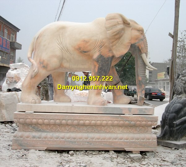 Voi đá ngựa đá Ninh Bình