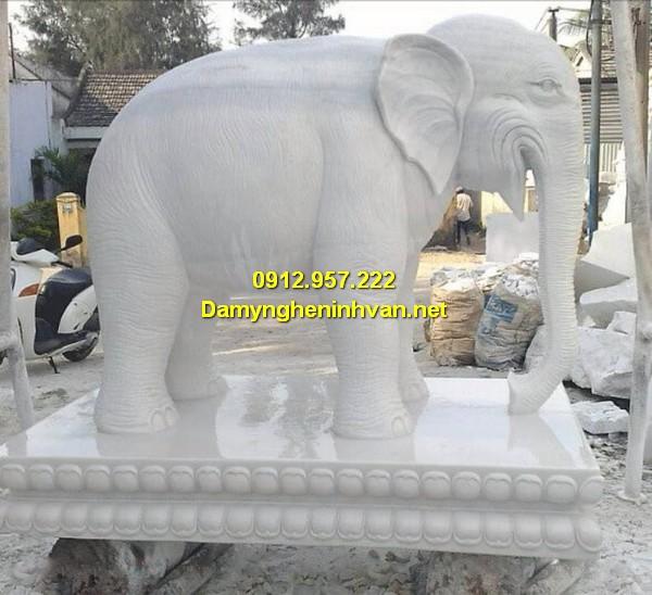 Làm tượng voi đá ngựa đá Thái Bình, Hà Nội, TPHCM